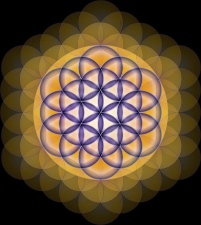 Sacred Geometry - The Flower of Life Image