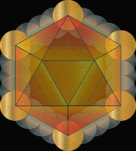 Five-Platonic-Solids-sacred-geometry-Small-Icosahedron-