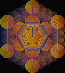 Five-Platonic-Solids-sacred-geometry-Small-Dodecahedron