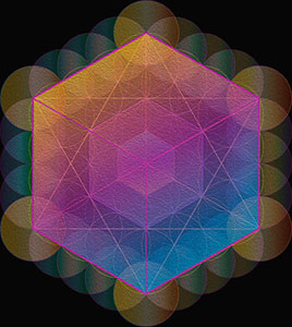 Five-Platonic-Solids-sacred-geometry-Small-Hexahedron