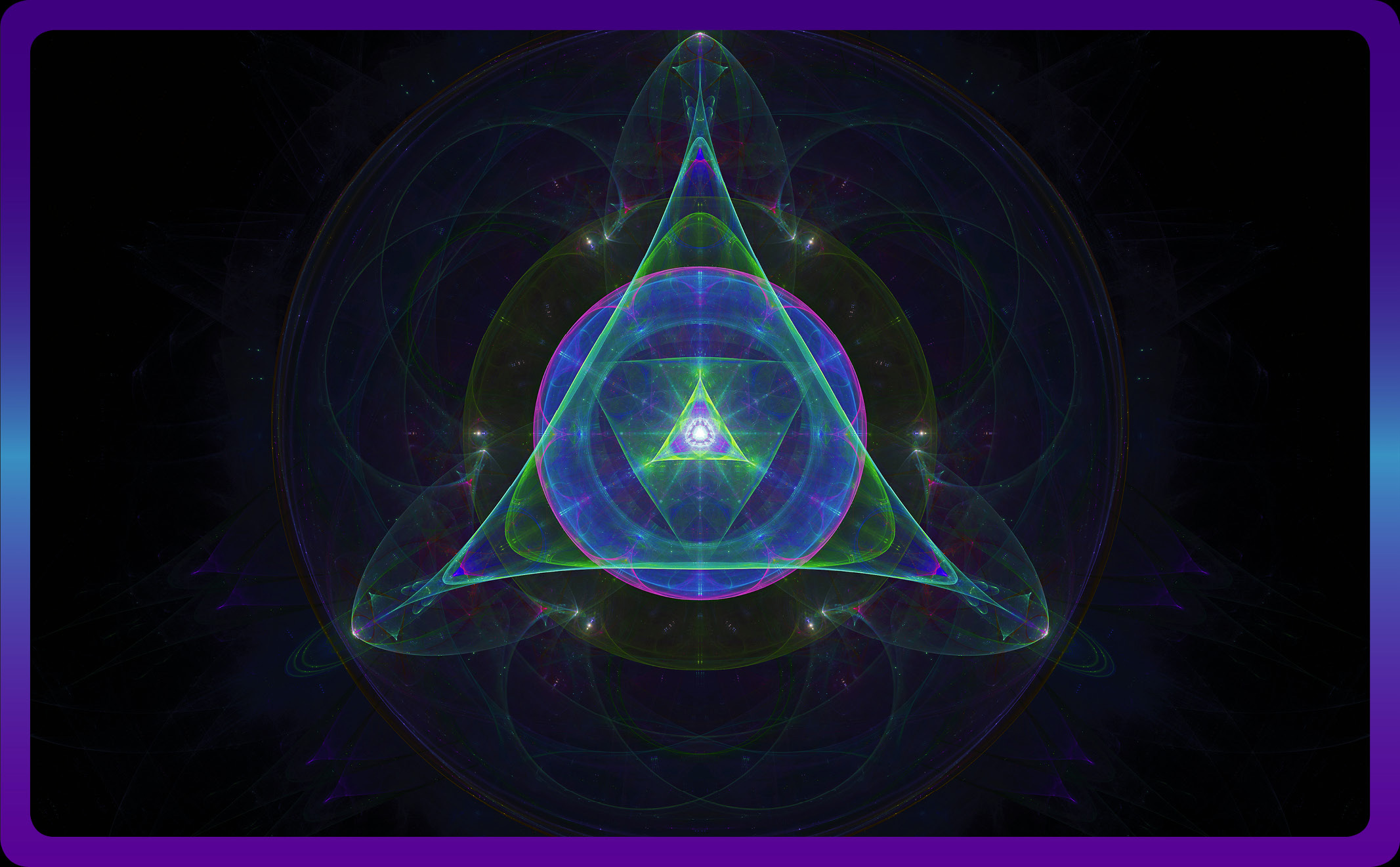 Listen and Observe-Oracle Cards - Sacred Geometry - Main Horizontal Image