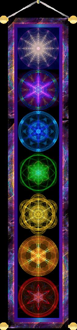 Chakra Banner Healing Arts